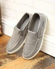 Summer Canvas Slip On sport Sneakers Mens Leisure Driving Shoes Casual