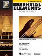 Hal Leonard Essential Elements 2000 Electric Bass Book 1 with CD-ROM by Hal Leo