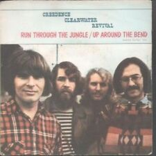 """CREEDENCE CLEARWATER REVIVAL Run Through The Jungle 7"""" VINYL French America"""