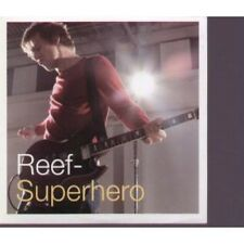 REEF Superhero CD UK Sony 2000 1 Track Promo In Special Card Sleeve (Xpcd2497)