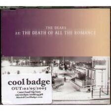 DEARS 22 The Death Of All The Romance CD UK Bella Union 2005 3 Track