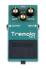 Boss TR-2 Tremolo Effects Pedal Factory Repack