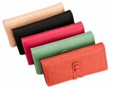 Women Soft Leather Cute Long Coin ID/Card Wallet Money Bag Clutch Purse Handbag