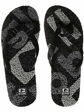 Globe Black-Pewter-Grey Merkin-Matrix Flip Flop