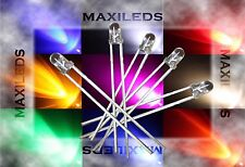 1000x 3mm LED round very bright LEDs Resistor 3mm