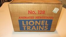 Lionel 128 Animated Newstand with Box, Instructions