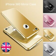 360 Degree Full Hybrid Tempered Glass +Mirror Hard Case Cover For iPhone 6 S 7