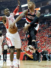 Damian Lillard No Look Pass Blazers Basketball Giant Wall Print POSTER