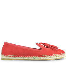 Wittner Ladies Shoes Orange Suede Flats