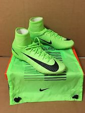 Nike Mercurial Vapor Superfly V 5 FG - Soccer - IV - Cleats - Electric Green