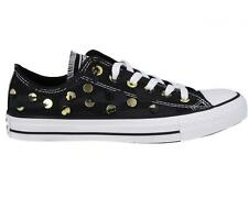 Converse All Star Chuck Taylor Ox Black Studs Low Shoes Women Sneakers 547296