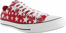New Unisex Converse All Star Chuck Taylor Red White Star Pack Shoes 147119