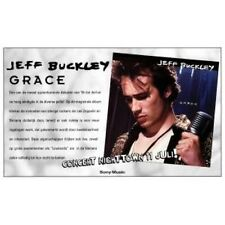 JEFF BUCKLEY Grace POSTER Dutch Sony 1994 Repro Promo Concert Poster Approx 30