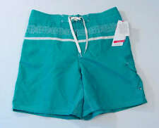 Speedo Speed Dry Turquoise Brief Lined Water Shorts Swim Trunks Mens NWT