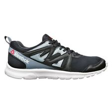 Reebok Run Supreme-2 MEN'S RUNNING SHOES, BLACK/WHITE - Size US 7, 8, 8.5 Or 9