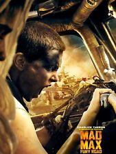 Mad Max Fury Road Imperator Furiosa Charlize Theron HUGE GIANT PRINT POSTER