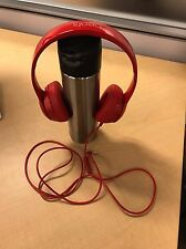 Authentic Beats by Dr. Dre Solo2 Headband Headphones - Red - Excellent Condition