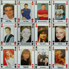 LIVE + KICKING Magazine Celebrity Pop Star Playing Card fridge magnet - VARIOUS