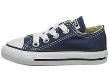 Toddler Infant Baby Converse All Star Chuck Taylor OX Low Navy/White 7J237
