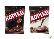 KOPIKO REAL COFFEE & CAPPUCCINO CANDY SWEETS Coffee Bum Snack 36 Tablet 108 g.