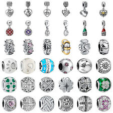 925 European Sterling Fashion Silver Charms Bead for Bracelet Chain Necklace BB4