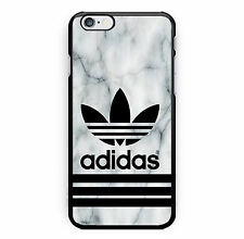 Best New Adidas Marble White Print Hard Plastic Case For iPhone 7 5s 6s & 7 Plus