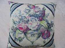 Designers Guild  Fabric Royal Collection 100%Cotton Wyatt Magenta Cushion Cover