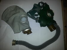 SET of Gas Masks only GP-5 gray and GP-4 green Soviet Russian NEW Vintage GIFT