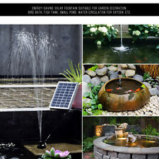 Solar Fountain Submersible Water Pump Kit for Garden Plants Pool Pond Watering