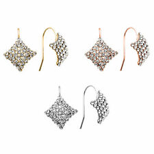 14K Gold, Rose Gold, or Rhodium Plated Crystal Wishing Star Earring