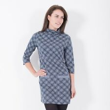 BRAKEBURN WOMENS FUNNEL NECK DRESS