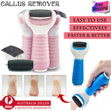Electric Callus Remover 2 Head Pedicure Kit File Foot Care Hard Skin Cuticle Dry