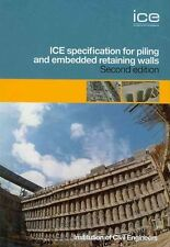 Specification for Piling and Embedded Retaining Walls by Federation of Piling...