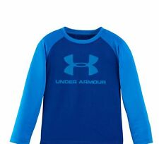 T Shirt Under Armour Graphic Print For Little Boys Long Sleeves