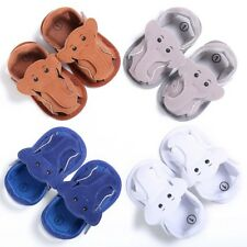 Cute Baby Boy Sandals Elephant Soft Sole Summer Shoes Prewalker Newborn-18Months