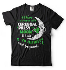 Love someone with Cerebral palsy T-shirt Cerebral palsy awareness Tee Shirt