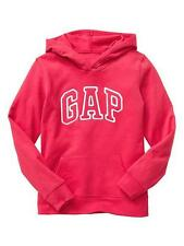 NEW NWT Womens GAP Arch Logo Pullover Hooded Sweatshirt Hoodie Passion Pink *E4