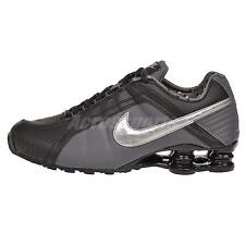 Nike Wmns Shox Junior Running Womens Shoes Black Silver 454339-020