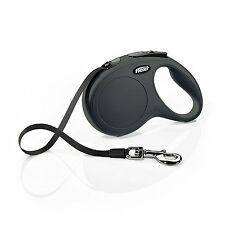 Flexi New Classic Retractable Dog Leash (Tape) 16 ft, Medium/Large in 4 colors