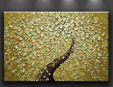 framed ! Handmade Textured Oil Painting Modern Abstract Wall Art on Canvas