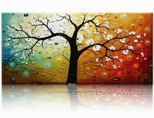 + framed Handmade Oil Painting Modern Canvas Picture Abstract Asian Wall Art