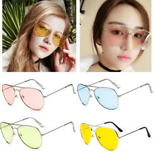 Hot Retro Fashion Unisex Women Men Vintage Aviator Sunglasses Glasses Eyewear