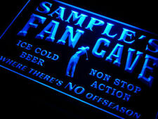 Custom Man cave light sign - Personalized name golf fan cave beer bar sign