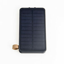 8000mAh Portable 2W Solar Panel Folding Battery Charger Power Bank Camping Light