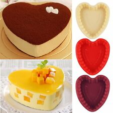 Love Heart Silicon Bread Cake Mold Moulds Baking Pan Tool DIY Pizza Bakeware HOT