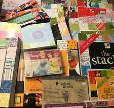 Retired DCWV Scrapbook Paper Pads Huge Stacks 12 x 12 & More You choose!
