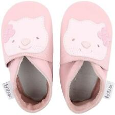 Bobux Kitten Light Pink Leather Soft Soles