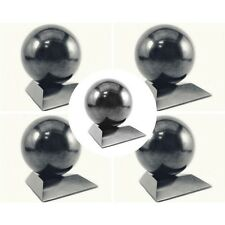 Shungite spheres with stands EMF protection set