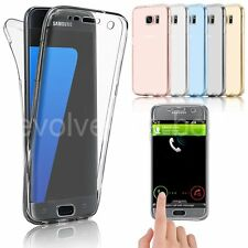Ultra Thin Slim 360 TPU Gel Skin Cover Case Pouch for Samsung Galaxy S8 S7 Edge