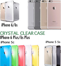 CLEAR ULTRA THIN SLIM TRANSPARENT TPU SILICONE GEL CASE FOR iPhone 5 5c 5s 6 6s